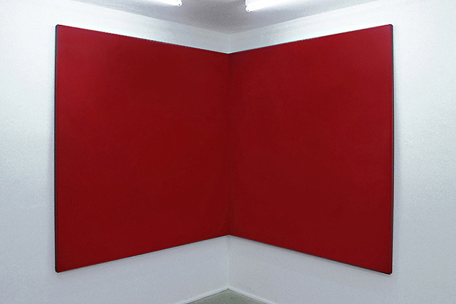 Gunda Foerster: Rote Bildobjekte